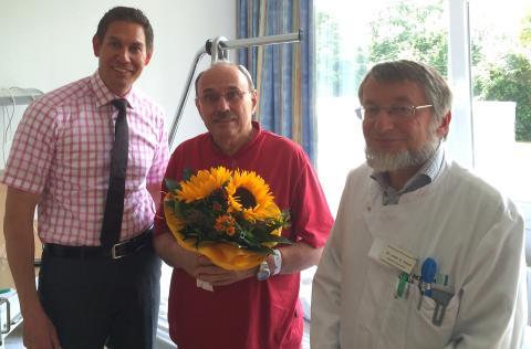 100.000ster Patient in den MediClin Bosenberg Kliniken