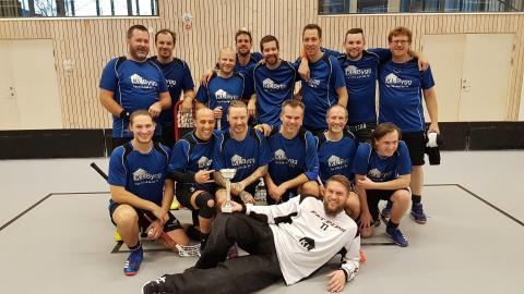 KL-Bygg vinnare i Uppsalas kval i Sweden Floorball Cup