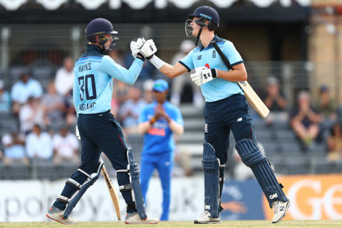 England U19s beat India U19s by five wickets in Cheltenham