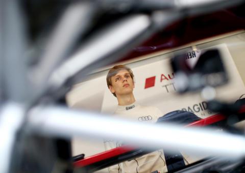Simon Larsson Audi Sport TT Cup i Tyskland 2016