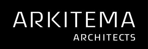 Arkitema logo - negativ