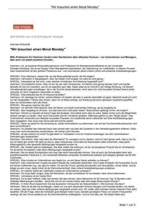 GenCEO-Frau Eva Hartmann im SPIEGEL-Interview