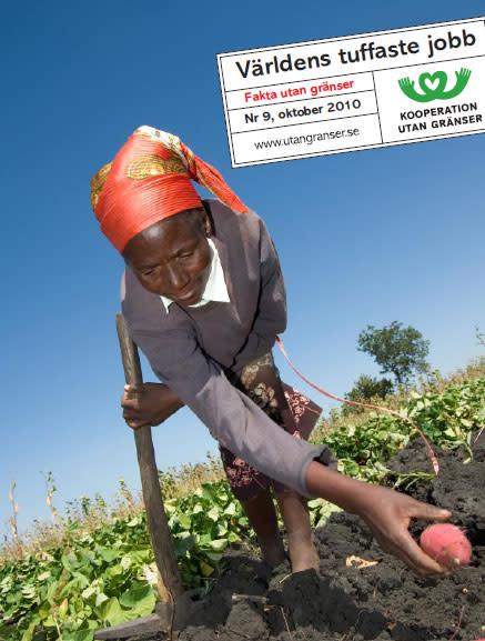 Jordbrukande kvinnor nyckel till minskad fattigdom