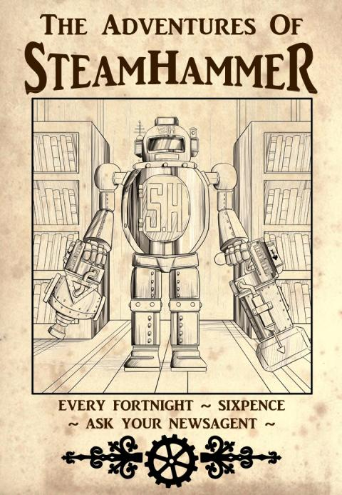 SteamHammer Comic Poster