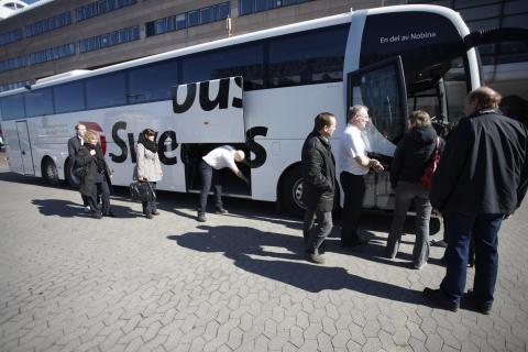 Swebus: Cityterminalen i Stockholm är Sveriges tredje bästa hållplats