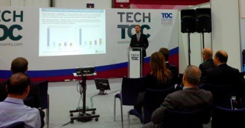Cavotec showcases shore power at TOC Middle East