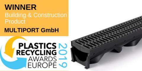 "MPO Easy Channel von Multiport als ""Building & Construction Product of the Year"" ausgezeichnet"