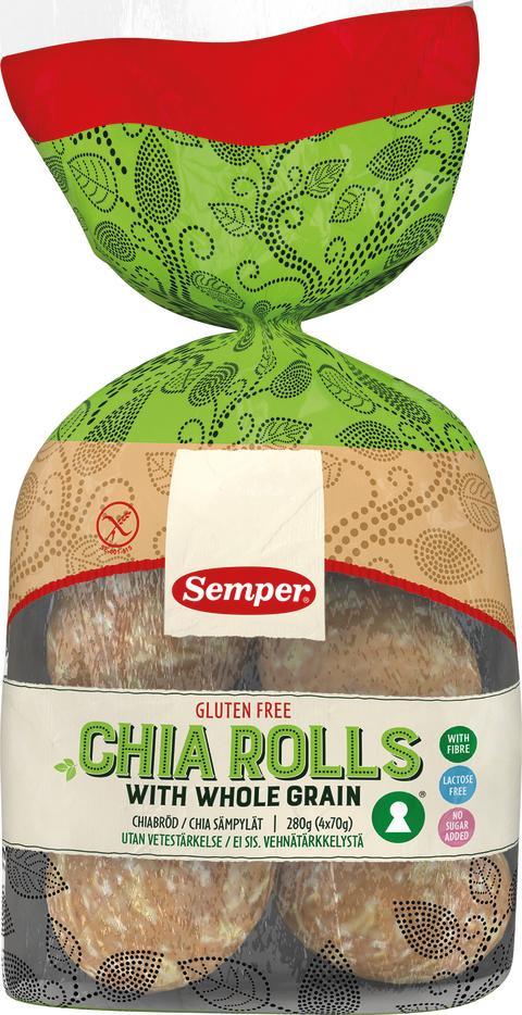 Semper Chia Rolls
