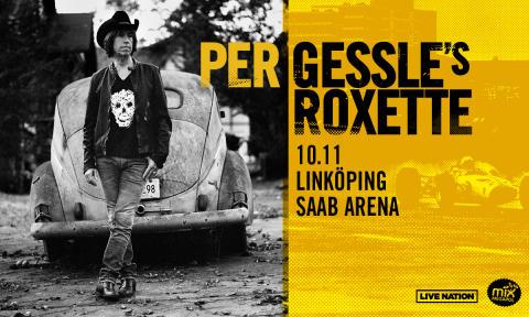 Gessle besöker Linköping på Europa-turné