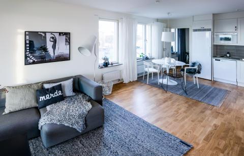 Lägenhetskonceptet Smarta kvadrat.