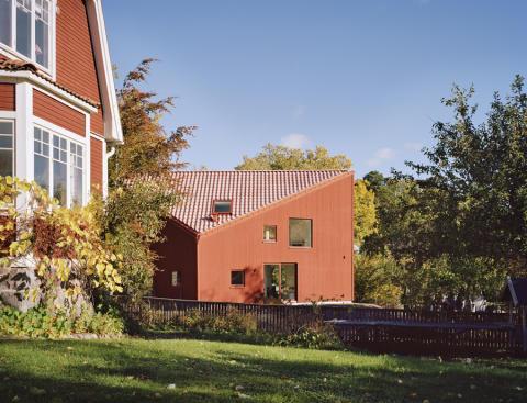 Villa Ekros, Rödfärgspriset 2012