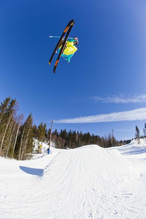 Wyller slopestyle hopp