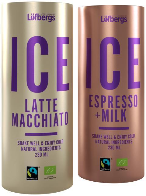 ICE LATTE MACCHIATO OCH ESPRESSO MILK