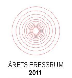 Stem på Årets Presserom 2011 !
