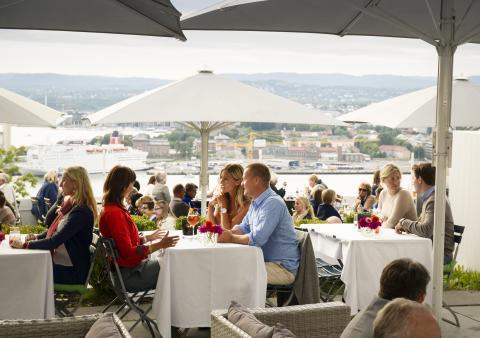 Das Ekeberg-Restaurant, eine der Top-Adressen in Oslo