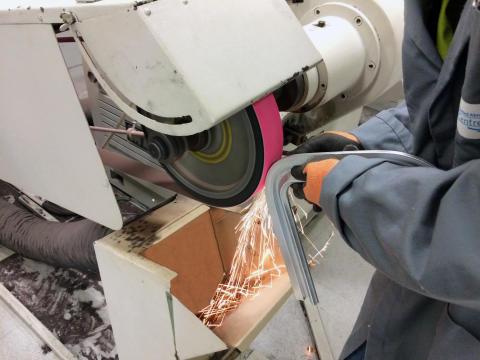 Nytt slipband ger effektivare slipning