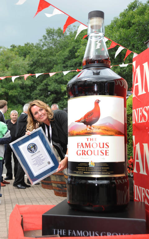 The Famous Grouse sätter nytt världsrekord