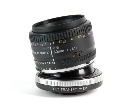 Lensbaby Tilt Transformer Nikon objektiivilla