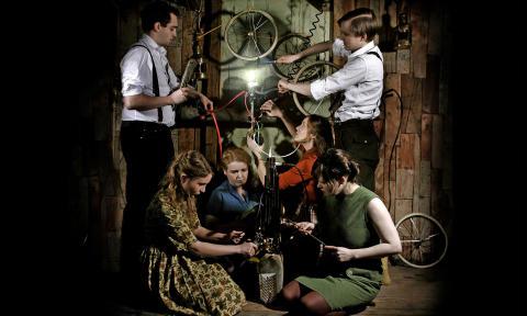 Fortryllende amiina fra Island præsenterer musikken til Fantômas au Châtelet og nyt materiale i VEGA