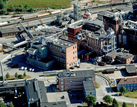 SEKAB Chemical plant and Demo plant
