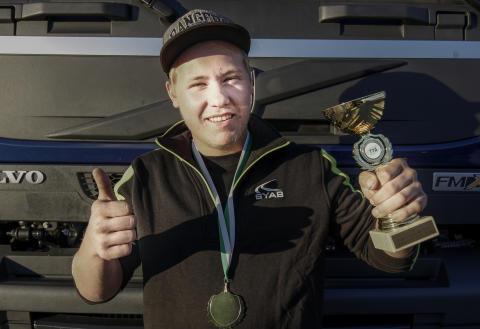 Felix Karlson från Hultsfred vinnare i kvaltävlingen till Yrkes-SM i Söderhamn
