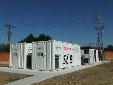 GAS NATURAL FENOSA AND TOSHIBA CELEBRATE THE START UP OF A PROJECT IN ALCALÁ DE HENARES TO STRENGTHEN THE ELECTRICITY GRID WITH TOSHIBA'S LITHIUM-ION BATTERIES