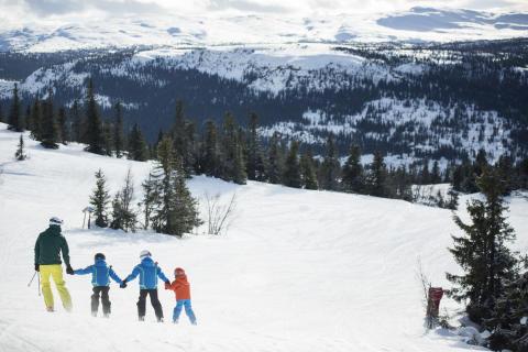 Kvitfjell: Familienspaß auf Weltcup-Pisten