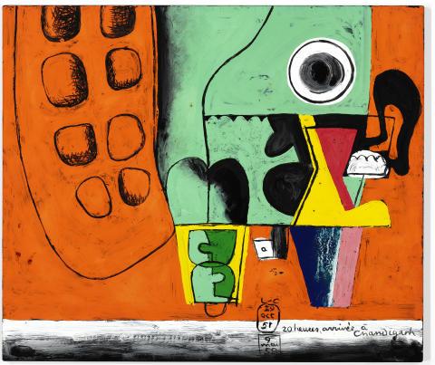 """Le Corbusier: """"20 heures, arrivée à Chandigarh"""" (1951-1959)"""