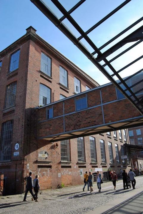 Am 15.12.2016 ist die ehemalige Leipziger Baumwollspinnerei Veranstaltungsort der Atelierbesuche