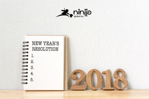 Ninjja Global Detail New Year resolutions that are set to accelerate an individual's success