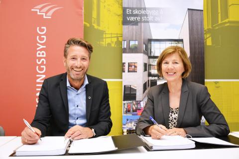 Veidekke skal bygge Ruseløkka skole for 370 millioner