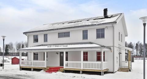 Nytillskott på Nybygget med Hjältevadshuset Sol 187