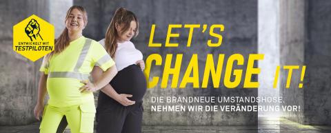 Schwangerschaftshose Banner