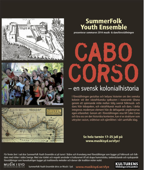 Folkmusik- och dansprojekt för ungdomar vittnar om en svensk kolonialhistoria