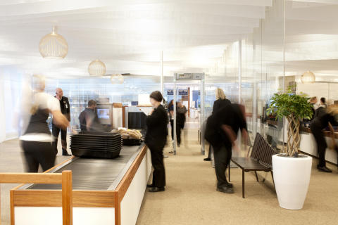 Säkerhetskontrollen Göteborg Landvetter Airport