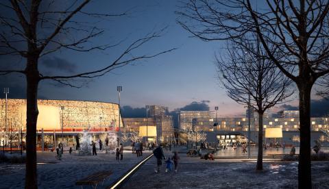 Malmström & Edström och Tyréns föreslår en utveckling av framtidens Heden