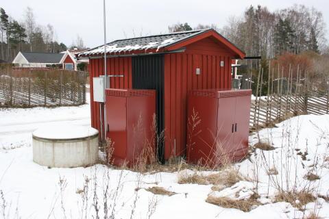 Teknikskåpen löser fiberutbyggnaden i skärgårdskommunen