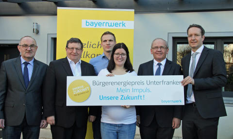 Auftakt Bürgerenergiepreis Unterfranken 2019