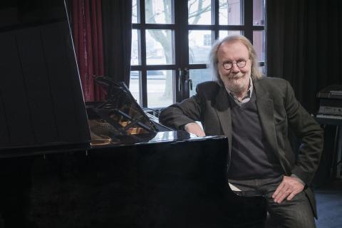 Kompositören och musikern Benny Andersson, aktiv i Kungl. Musikhögskolans fundraisingarbete. Foto: Mira Åkerman.
