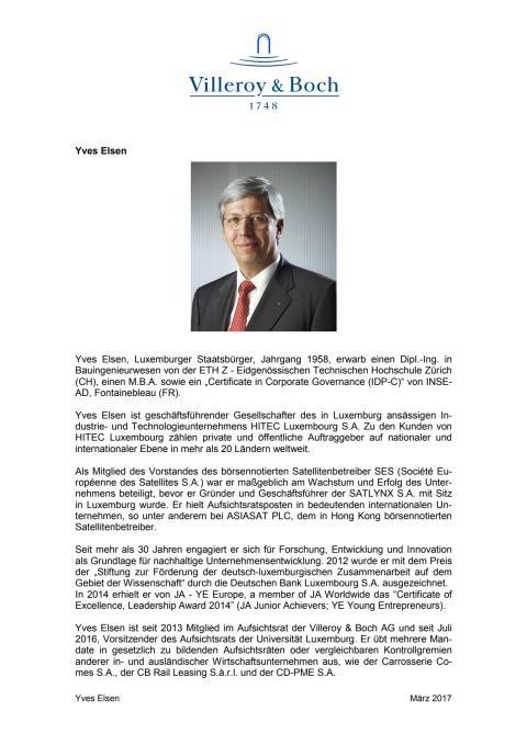 Profil Yves Elsen