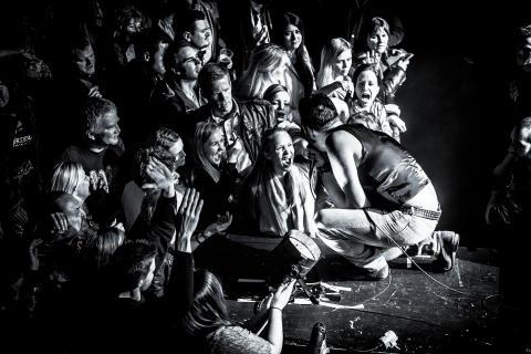 Vinner av Årets konsertbilde for konsertåret 2015 - Ingenting på Folken