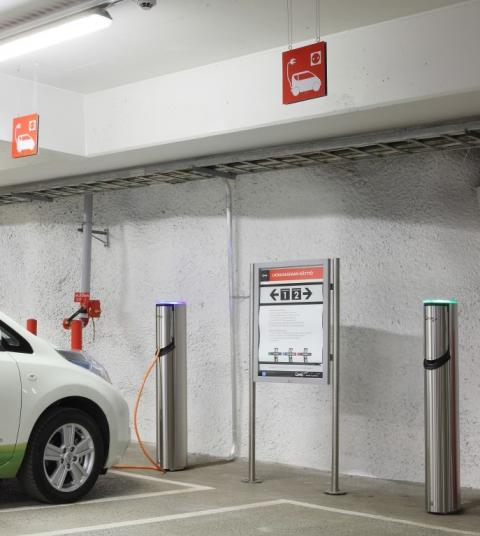 Q-Park UK introduces EV charging points in Liverpool