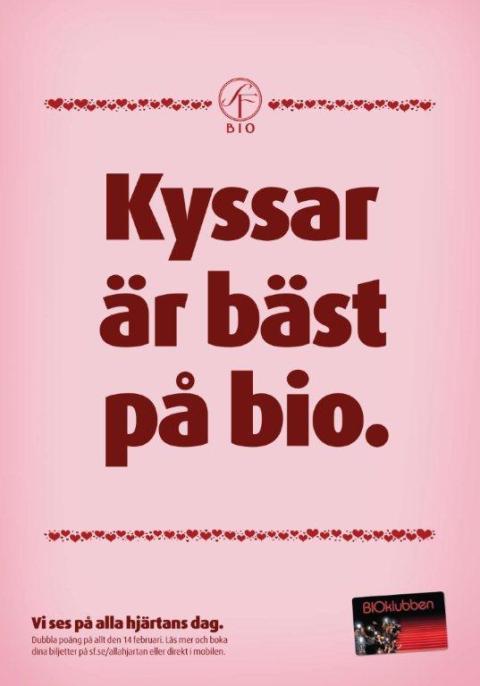 Alla Hjärtans Dag + Gå På Bio = Sant