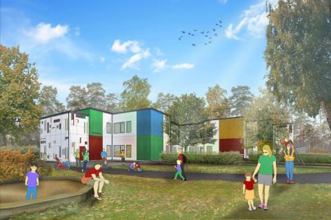 Invigning till bygget av ny förskola i Osby