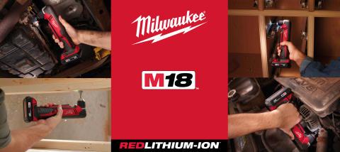 Milwaukee lanserar vinkelborrskruvdragare - Kompakt precision och kraft på svåråtkomliga platser