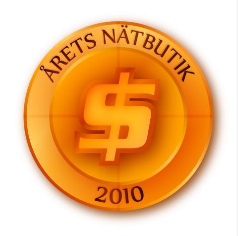Årets nätbutik 2010 är...