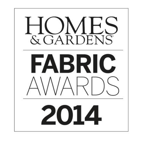 HOMES & GARDENS FABRIC AWARDS 2014