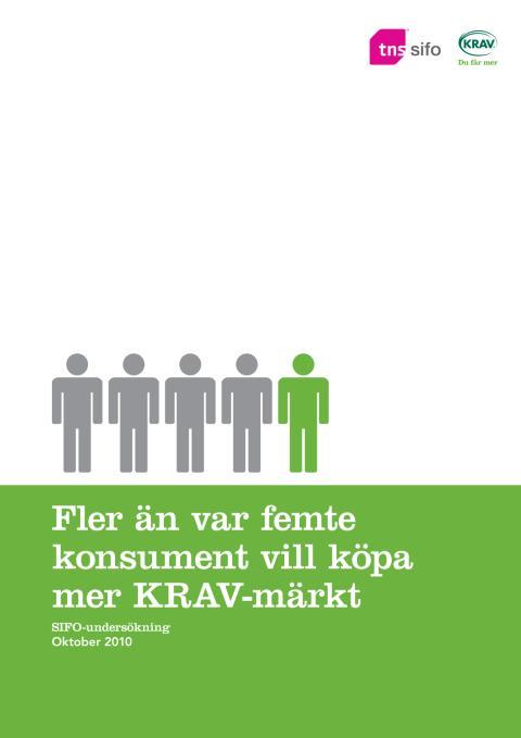 SIFO-undersökning KRAV 2010