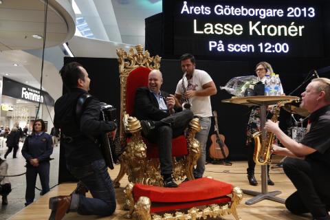 Lasse Kronér är Årets Göteborgare 2013