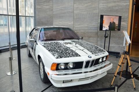 BMW Art Car Nr. 6 - Robert Rauschenberg
